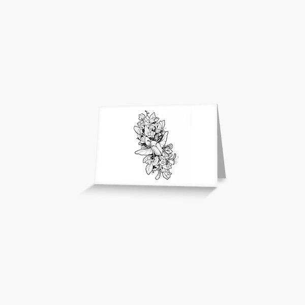 Botanical Design Greeting Card