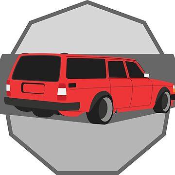 245 Hauler red by Rtgrplgt
