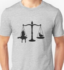May we burn her? Unisex T-Shirt