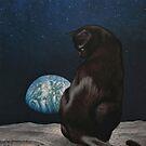 Black Cat Moon by FrankWermuth