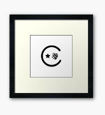 California Icons Framed Print