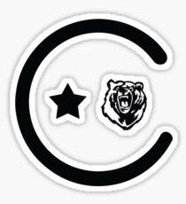 California Icons Sticker