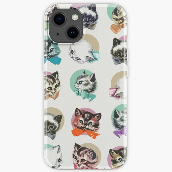 Cats & Bowties iPhone Soft Case