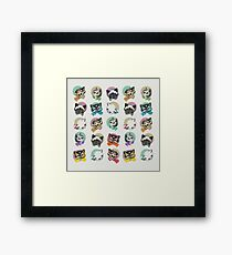 Cats & Bowties Framed Print
