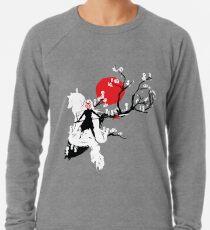Japanischer Wolf Leichtes Sweatshirt