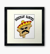 Mexican Cartel Framed Print