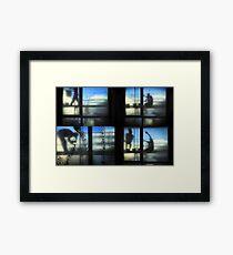 Facade works Framed Print