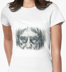 Its all in the eyes! Women's Fitted T-Shirt
