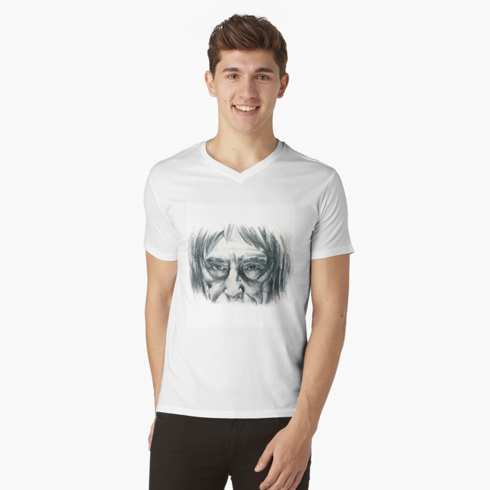 Its all in the eyes! V-Neck T-Shirt