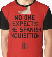 No One Expects the Spanish Inquisition Graphic T-Shirt