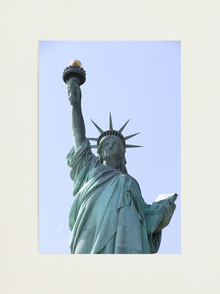 Alternate view of Statue of Liberty Photographic Print