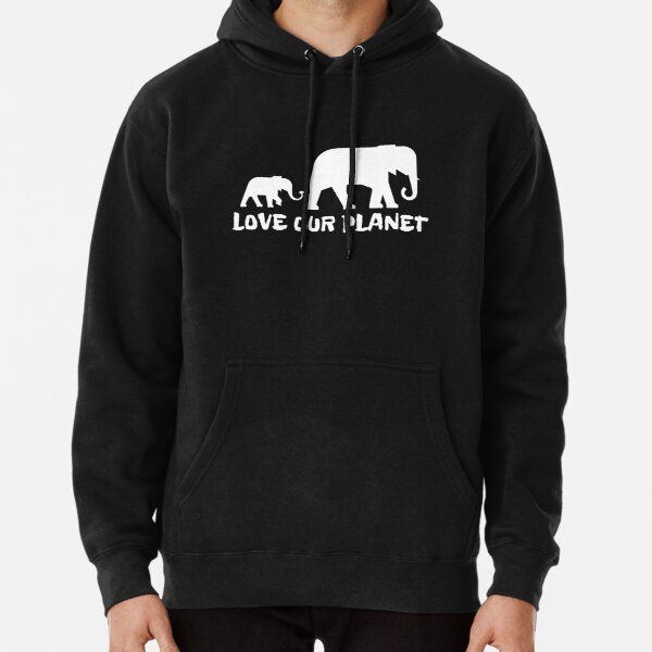 Love Our Planet Pullover Hoodie