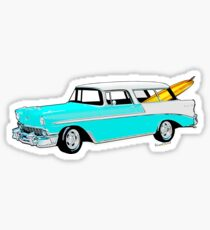56 Nomad by the Sea in the Morning Sticker