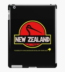 New Zealand: Kiwi Skull iPad Case/Skin