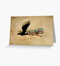 Fireflight Greeting Card
