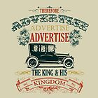 ADVERTISE! ADVERTISE! ADVERTISE! by JW ARTS & CRAFTS