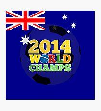 2014 World Champs Ball - Australia Photographic Print