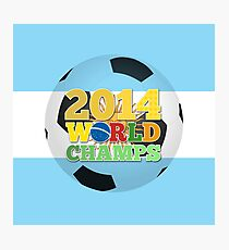2014 World Champs Ball - Argentina Photographic Print