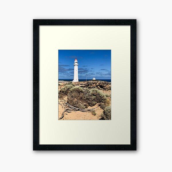 Cape Nelson Lighthouse - Portland, Australia Framed Art Print