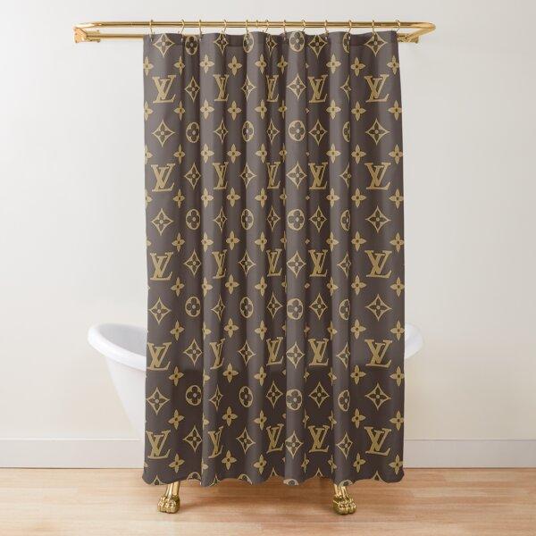 Louis V Shower Curtain