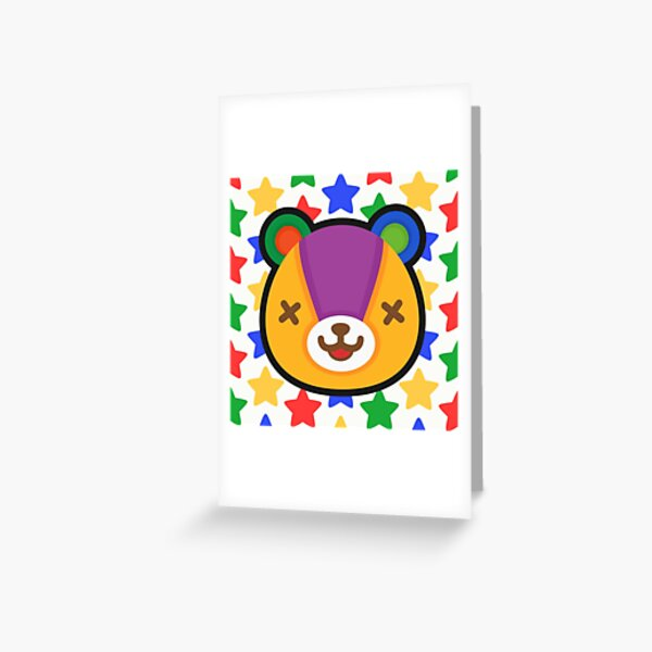 STITCHES ANIMAL CROSSING Greeting Card
