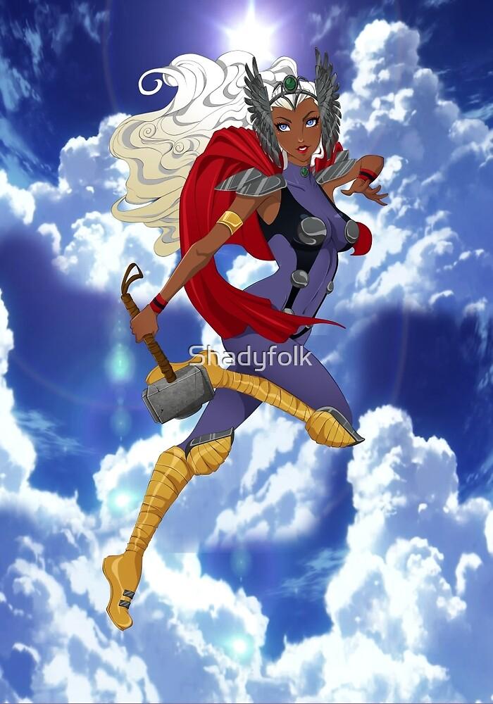 Goddess of Thunder by Shadyfolk