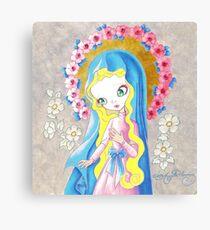 Sweetest Virgin Canvas Print