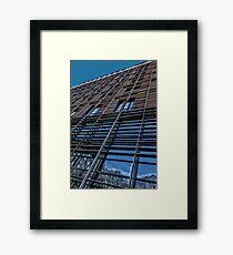 Urban Ribcage Framed Print