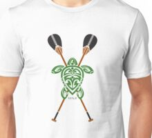 Green Tribal Turtle 2 Stand-Up / Maui Unisex T-Shirt