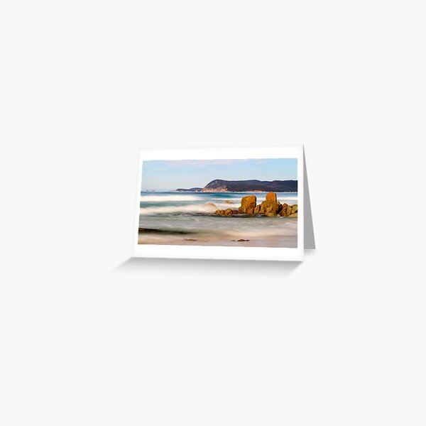 Friendly Beach Greeting Card