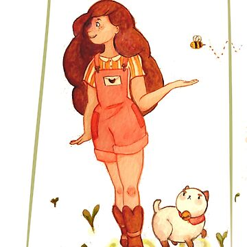 Bee and Puppycat go for a walk by TotoroTeser