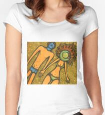 Sunny Couple Women's Fitted Scoop T-Shirt
