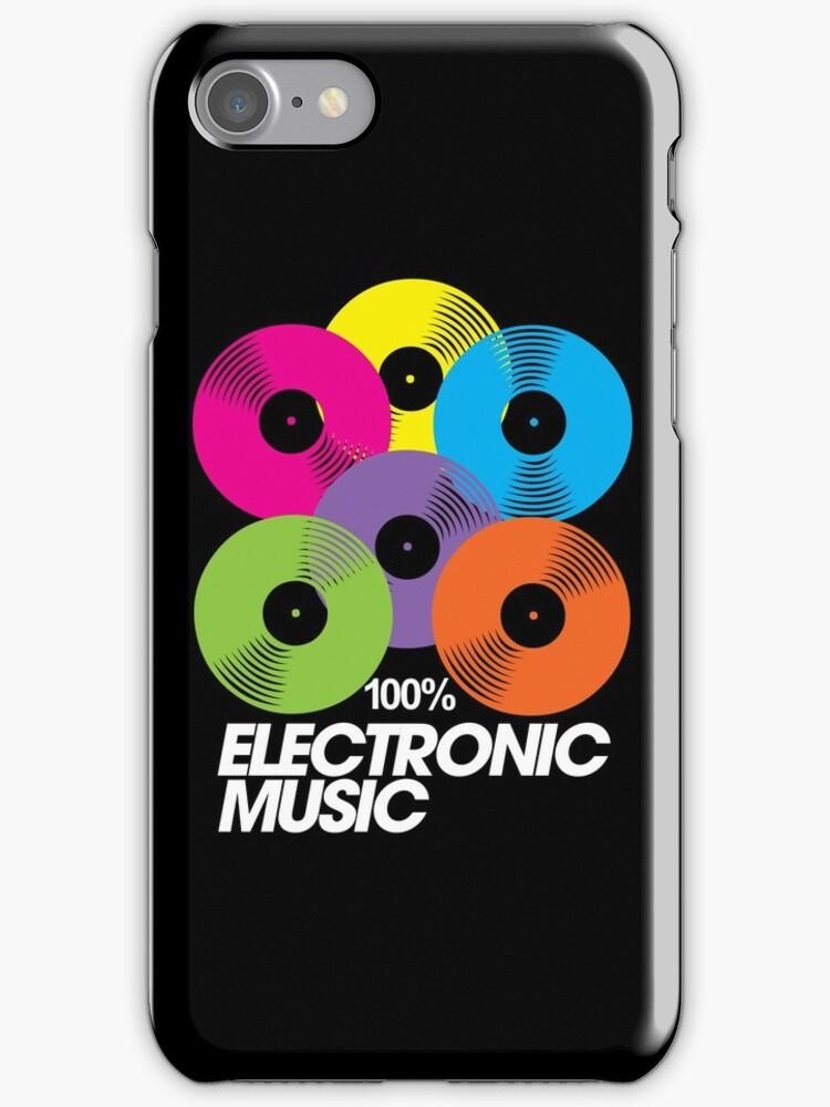 100% Electronic Music (black) by DropBass