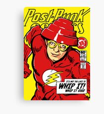 Post-Punk Comics | Whip It Canvas Print