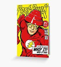 Post-Punk Comics | Whip It Greeting Card