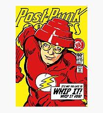 Post-Punk Comics | Whip It Photographic Print