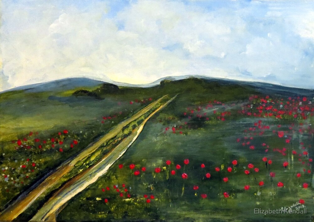 Over the hill by Elizabeth Kendall
