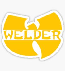 WU-WELD Sticker