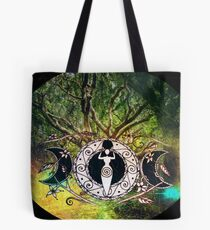 Goddess Of The Forest Tote Bag