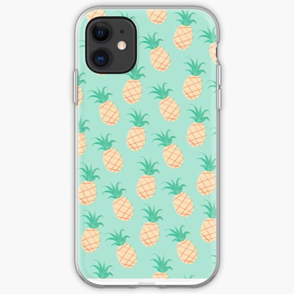 Pineapple Print / Pattern Phone Case iPhone Soft Case