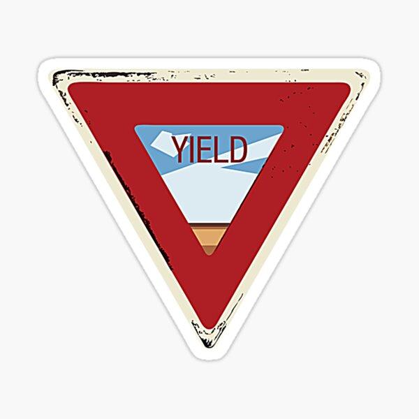 YIELD T-Shirt Sticker