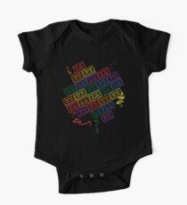 Retro Rainbow Kids Clothes