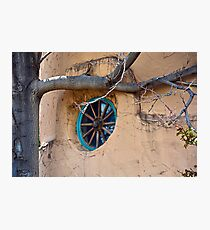 Santa Fe Adobe Window Photographic Print