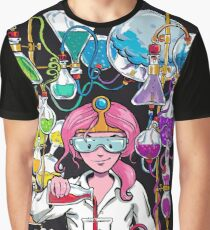 Science With Princess Bubblegum Graphic T-Shirt