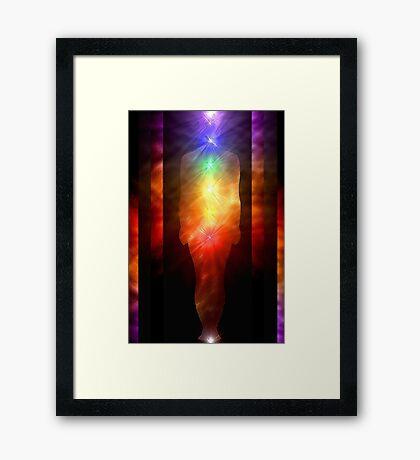Being of Light Framed Print
