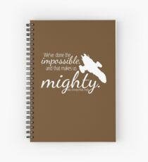 Firefly Shirt Spiral Notebook