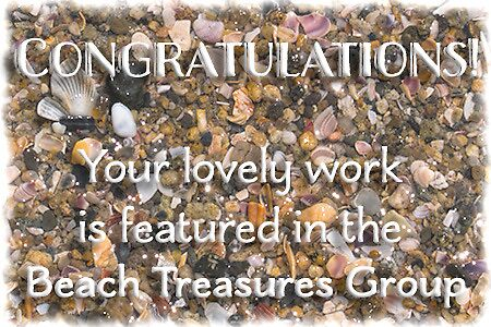 Proposed feature banner - Beach Treasures by Celeste Mookherjee