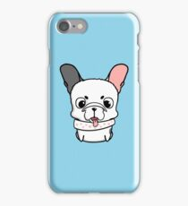 Cute little french bulldog puppy iPhone Case/Skin