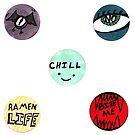 Happy Sticker Fun Times by giania