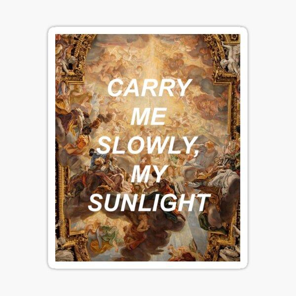 Sunlight (Hozier) Sticker